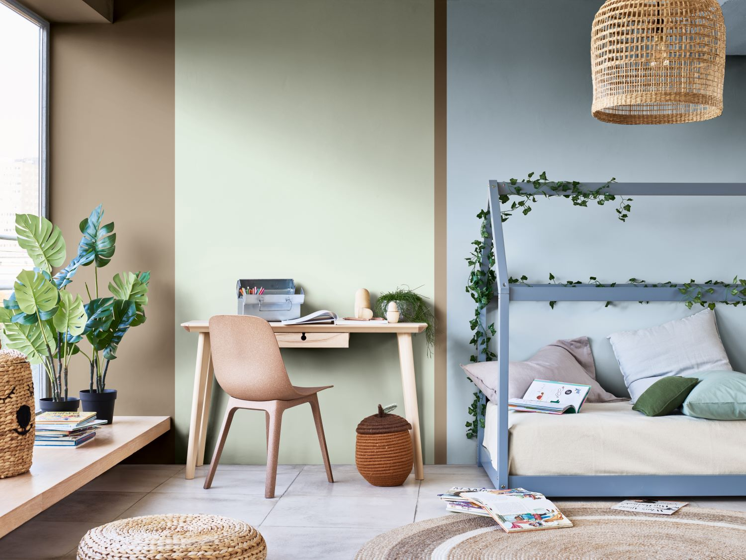 how to decorate your home office akzonobel