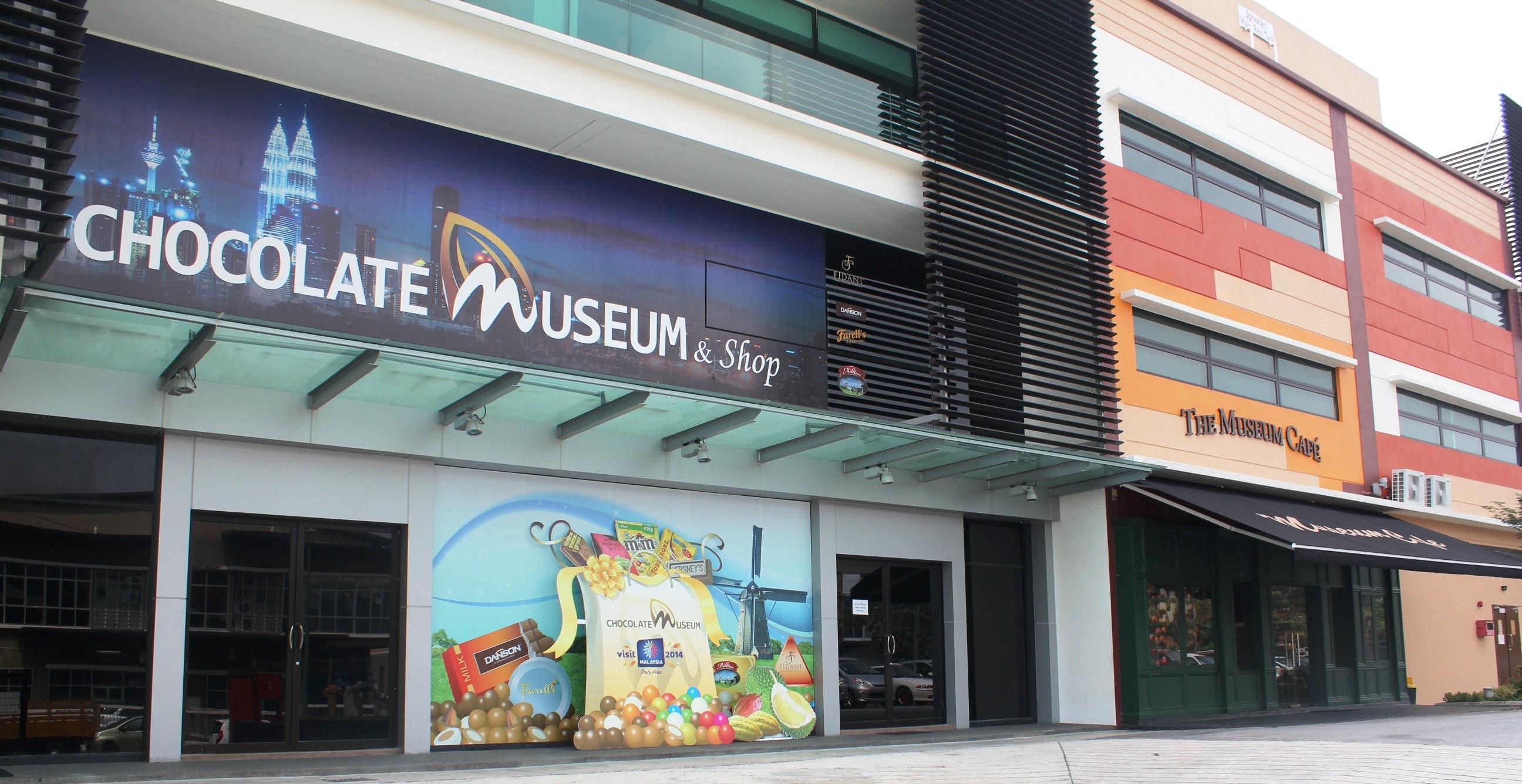 在Kota-Damansara社区的隐藏宝藏和攻略chocolate-museum