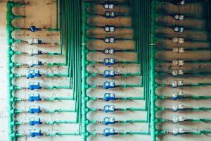 water meters in highrise buildings, apartment, and condominium