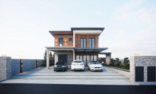 Exterior-Front-Facade-Balinese-House