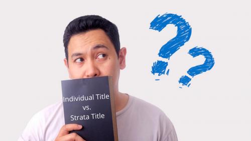 Individual-title-strata-title