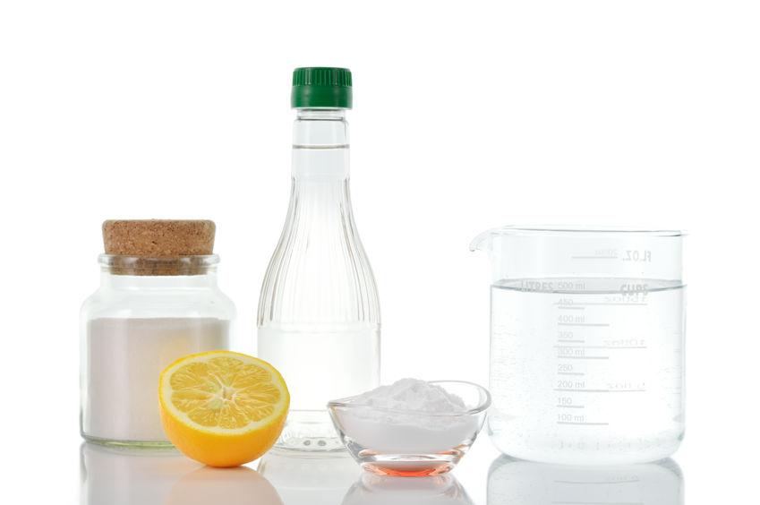 cuka dan soda bikarbonat kilatkan stainless steel