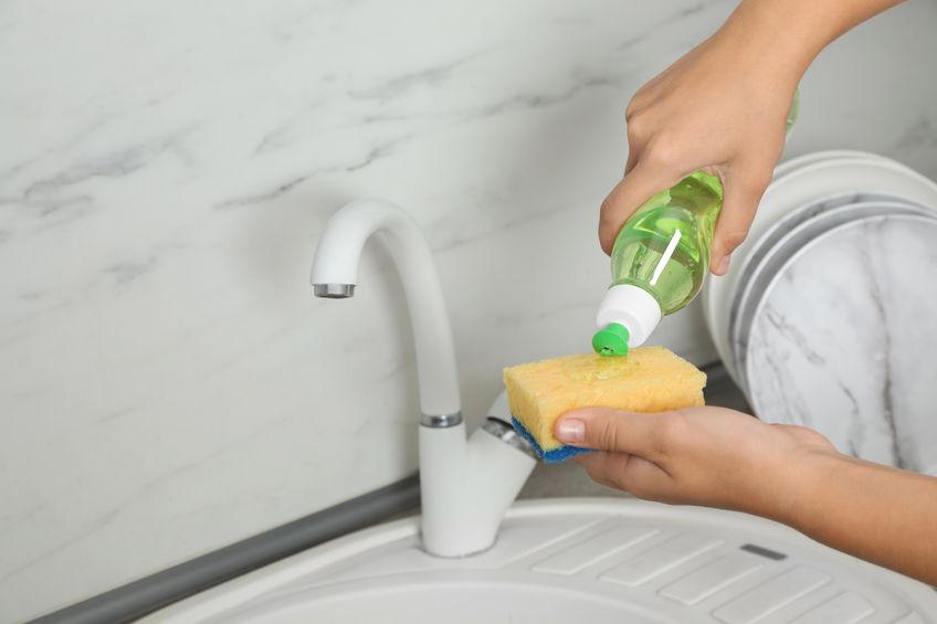 Cara bersihkan sinki kotor