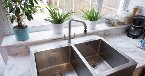 Cara mudah kilatkan sinki stainless steel supaya nampak baharu