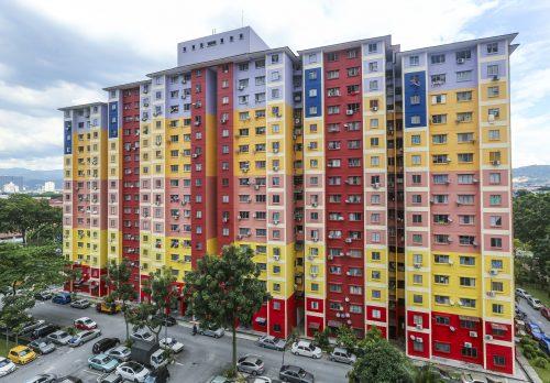contoh rumah PPR di Kuala Lumpur