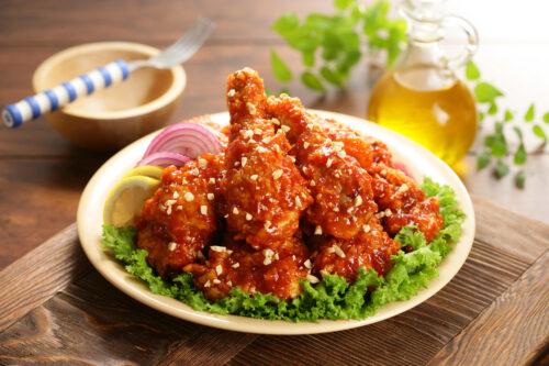air fryer gochujang chicken