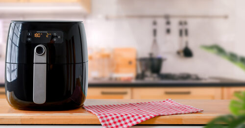 mistakes you make when using an air fryer