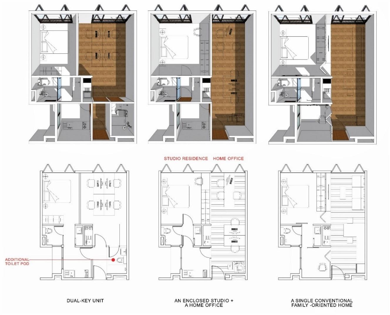 old folks home versatile layout