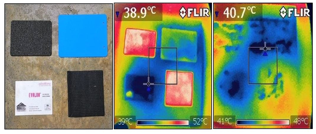 heat profile building material