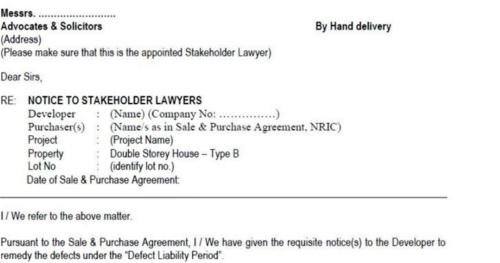 defect claim lawyer